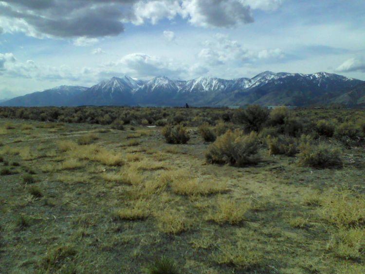 Job's Peak, Job's Sister, Freel Peak and Monument Peak from Minden Nevada