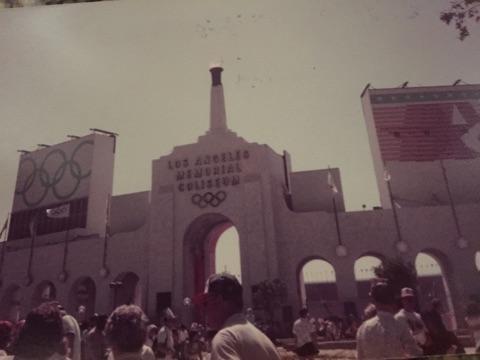 LA Coliseum Exterior