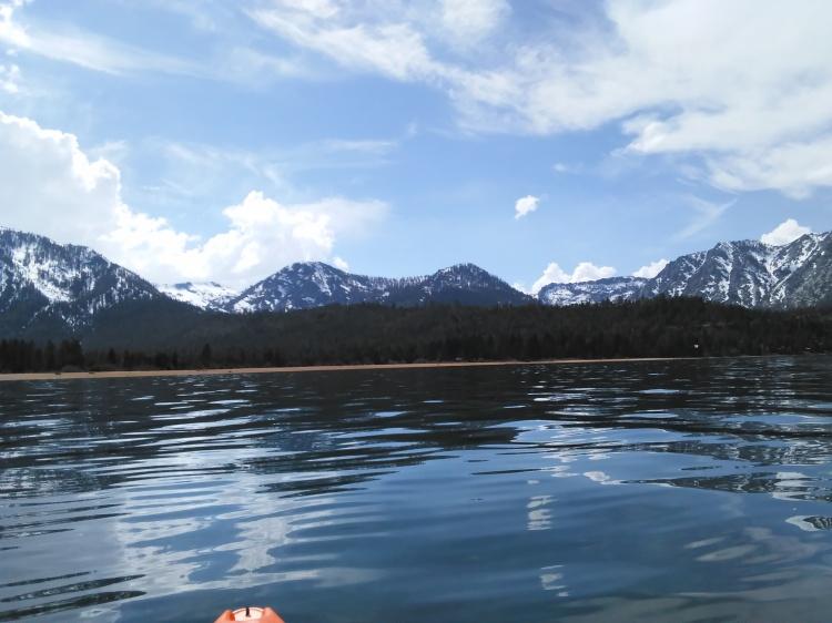 Kayak day 1 Maggie's Peaks